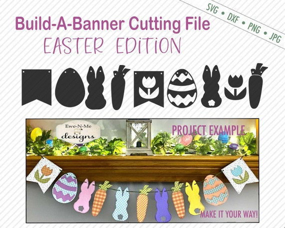 Easter Banner SVG - Build A Banner SVG