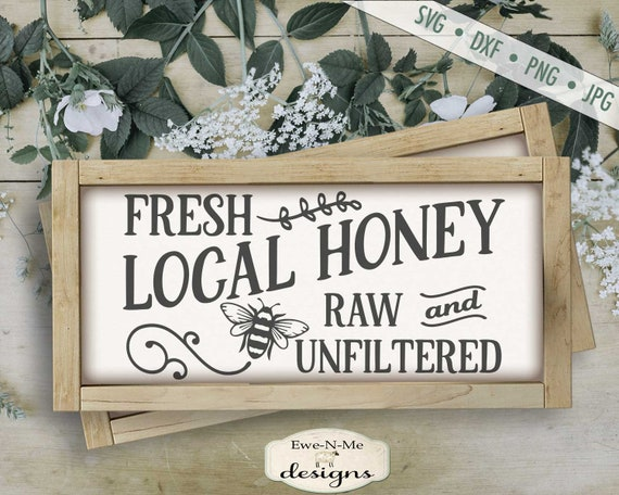Fresh Local Honey SVG