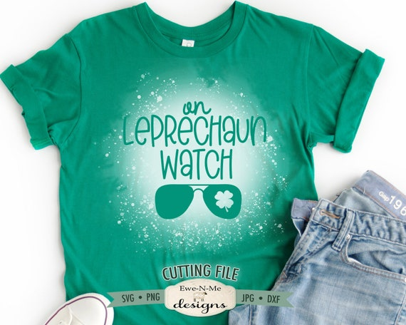 On Leprechaun Watch SVG - St Patricks SVG