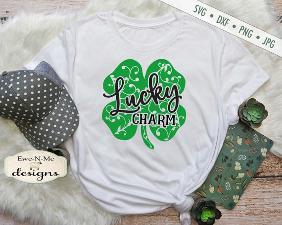 St Patricks Day SVG - Lucky Charm svg - Shamrock SVG - St Patricks SVG