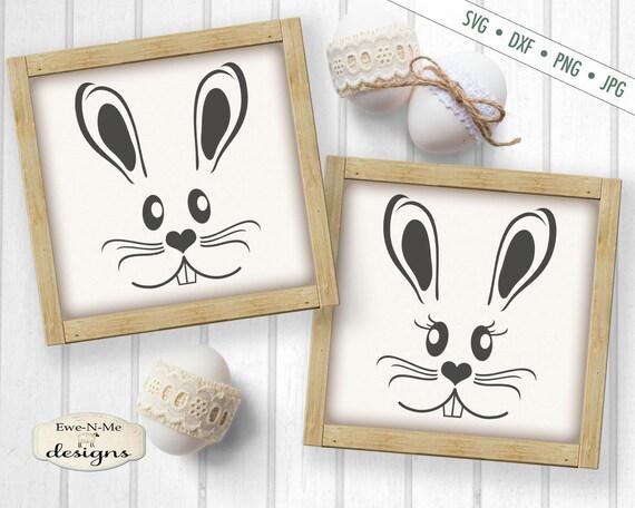 Easter SVG - Easter Bunny svg - Easter Rabbit SVG - Bunny Face svg - Rabbit Face svg