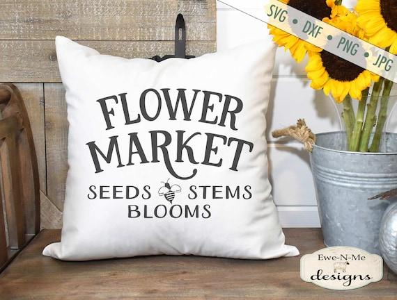 Flower Market SVG - Bee SVG