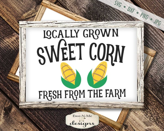 Sweet Corn - Fresh Produce SVG