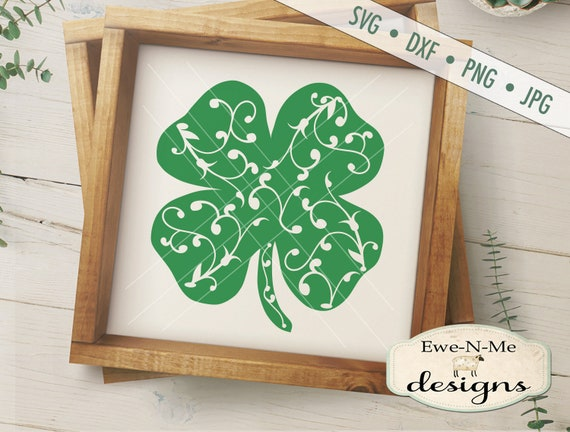 St Patricks Day SVG - shamrock vine svg - Shamrock SVG - St Patricks SVG - clover svg