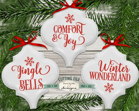 Comfort and Joy SVG - Jingle Bells  SVG - Winter Wonderland SVG