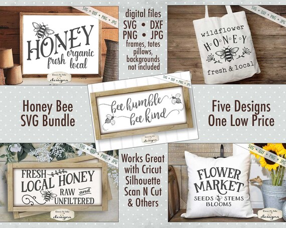 Honey Bee SVG Bundle