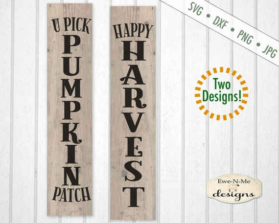 Fall svg - Pumpkin Patch svg - Harvest svg - autumn svg bundle - fall svg bundle - Vertical SVG - Commercial use svg, dxf, png and jpg