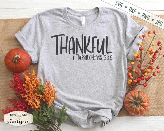 Thankful SVG - 1 Thessalonians 5:18 SVG