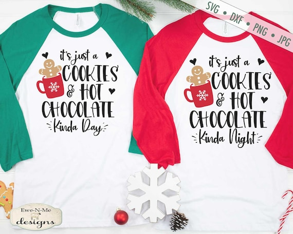 Cookies and Hot Chocolate svg - Christmas svg