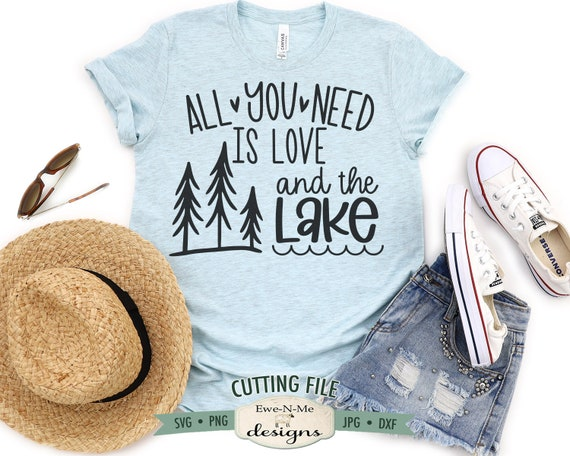 All You Need Is Love and Lake SVG