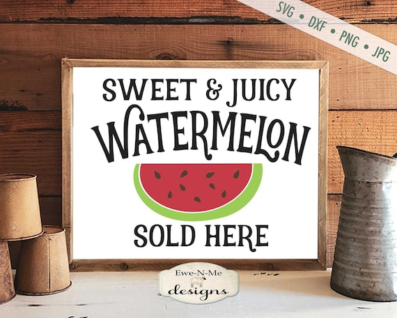 Watermelon Sold Here SVG