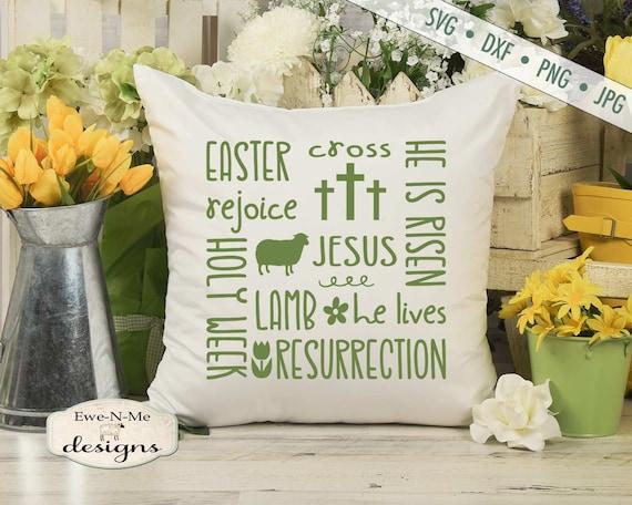 Easter SVG - Jesus SVG - Cross SVG - Easter Subway svg - He is Risen svg
