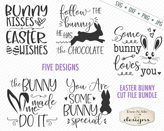 Bunny Bundle - Easter - SVG