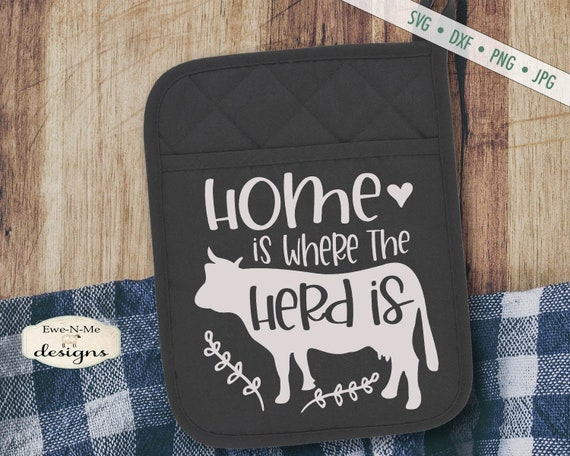 Home Is Where Your Herd Is SVG