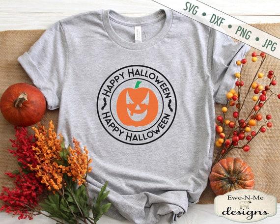Halloween SVG - Happy Halloween SVG - Jack O Lantern svg - Halloween Shirt SVG - pumpkin svg - Commercial Use svg, dxf, png, jpg