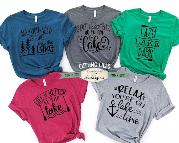 Summer Lake Bundle SVG - Lake T-Shirt SVG Files