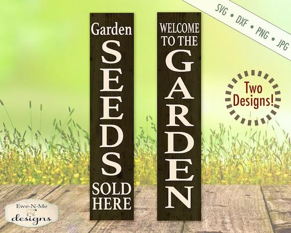 Garden SVG - Seeds SVG - Porch Sign SVG Bundle