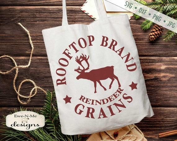 Rooftop Reindeer Grains SVG