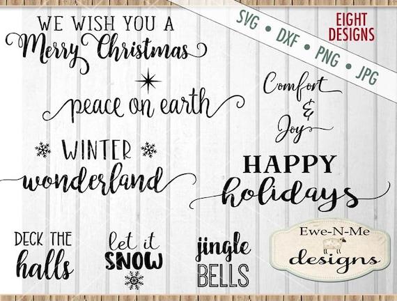 Christmas svg bundle - christmas svg - Holiday svg bundle - Christmas Joy SVG Bundle - Comfort Joy SVG  - Commercial use svg, dxf, png, jpg