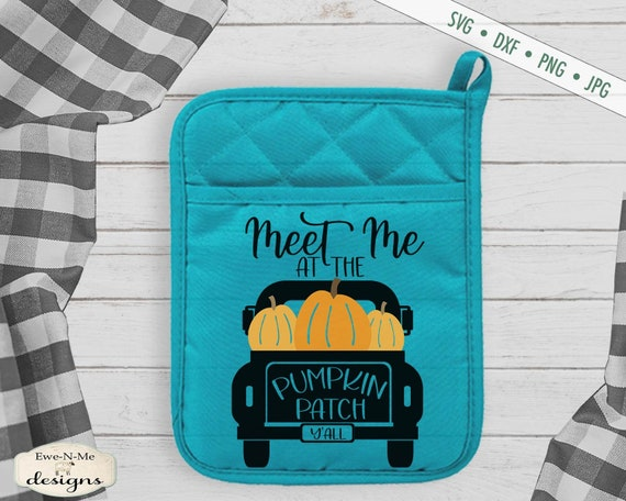 Meet Me at the Pumpkin Patch - Truck - Commercial Use svg, dxf, png, jpg