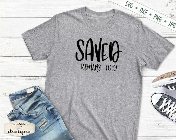 Saved SVG - Romans 10:9  SVG