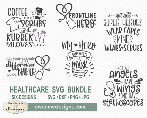 Healthcare Worker SVG Bundle