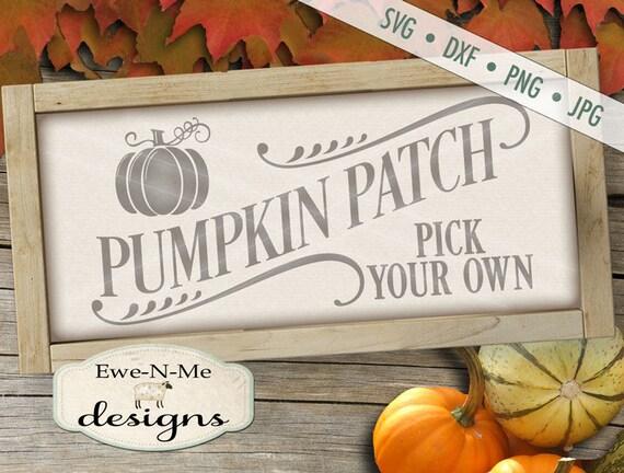 Pumpkin SVG  - fall svg - Pumpkin patch svg - autumn svg  - pumpkin svg files - pumpkin patch sign svg - Commercial Use svg, dxf, png, jpg