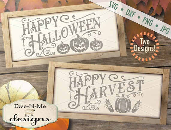 Halloween svg - Harvest svg - Pumpkin svg - autumn svg bundle - fall svg bundle - Jack o Lantern SVG - Commercial use svg, dxf, png and jpg