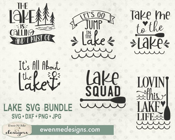 Lake Bundle SVG - Lake svg