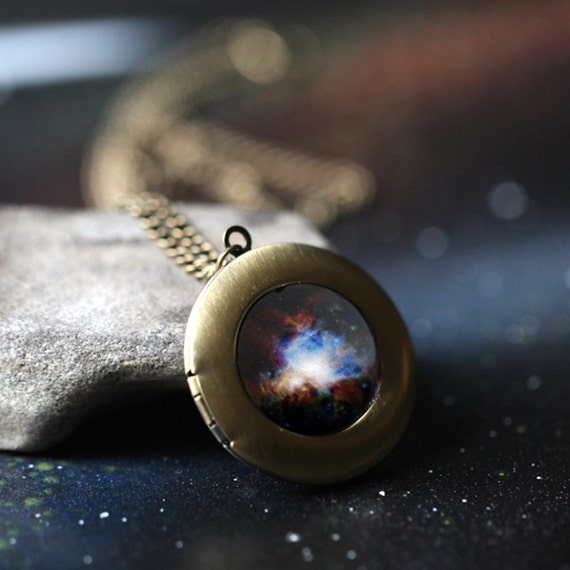 Haluoo/_Jewelry Planet Pendant Necklace,Haluoo Universe Solar System Stars and Galaxies Ball Pendant for Women Girls Time Gemstone Necklace Long Sweater Chain Necklace Birthday Gifts