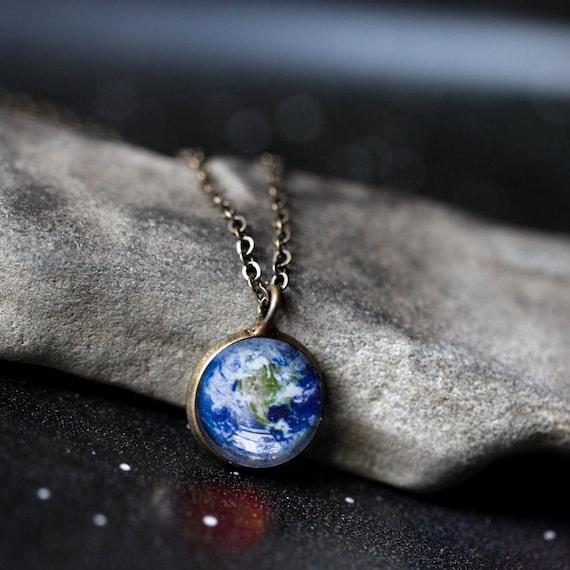 GiftJewelryShop Bronze Retro Style Aquarius Zodiac Photo Clip On Earrings 14mm Diameter