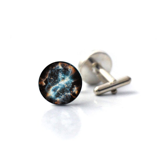 Nebula Space Orion Universe Cufflinks Cuff Links Gift Executive Shirt Mens