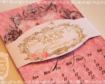 2018 Calendar Marie Antoinette from Paper Nosh Large -   5 x 7 Wall or Desk Calendar