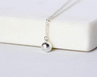 Dainty Silver Charm Necklace
