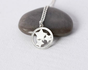 Silver Star Everyday Necklace