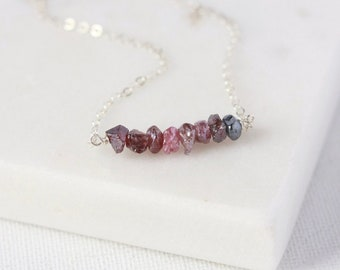 Raw Ombre Stone Necklace