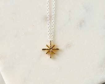 Dainty Gold Star Layering Necklace