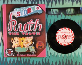 The Real Story of Ruth the Tooth 3D Book and record
