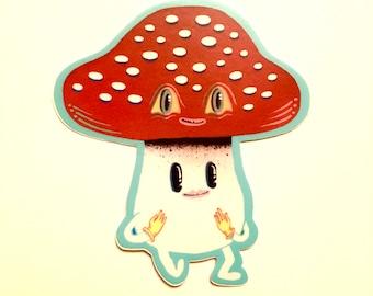 Amanita Mushroom stickers