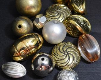 Big Metallic Bead Bunch