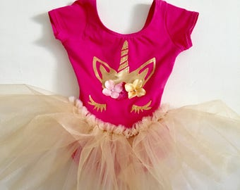 Unicorn Tutu - Unicorn Dress - Unicorn  Birthday- unicorn Costume