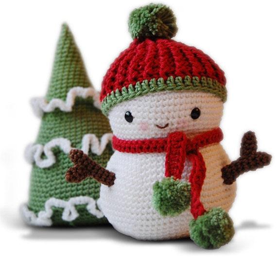 Cute Amigurumi Snowman Crochet Pattern - Snowman Christmas ... | 535x570