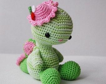 Amigurumi Crochet Dragon Pattern - Miss Dragon - Softie - Plush