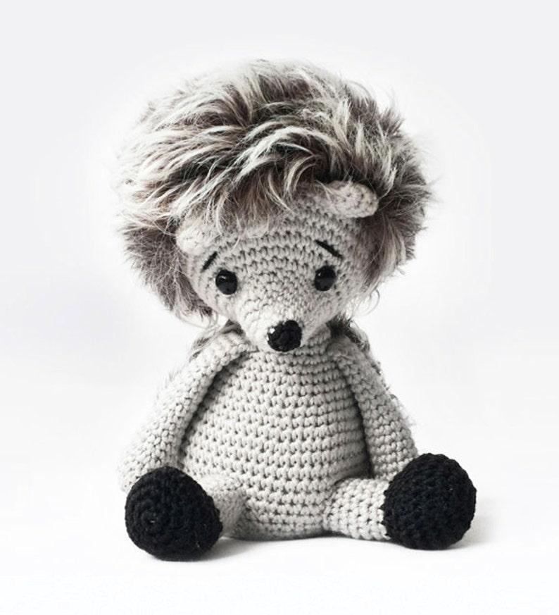 8b1136c14a71 Amigurumi Crochet Hedgehog Pattern Alvin the Hedgehog