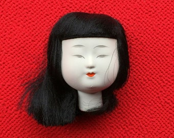 Japanese Doll Head - Hina Matsuri Female Doll Head (D14-4)