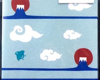 Japanese Envelopes - Mount Fuji Envelopes  - Cute Envelopes - Mountain  Envelopes -  Set of 8