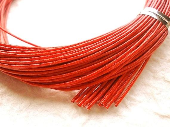 Mizuhiki Japanese Decorative Paper Strings Cords Red