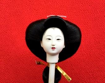 Japanese Doll Head - Hina Matsuri Female Doll Head (D8-28)