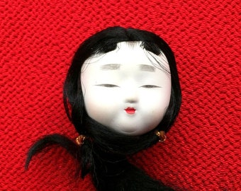 Japanese Doll Head - Hina Matsuri Female Doll Head (D14-3)