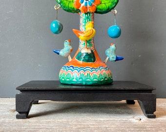 Rectangular Asian Wooden Display Stand